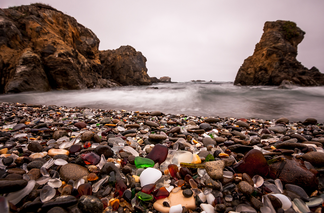 Glass Beach, Sonoma Coast, California