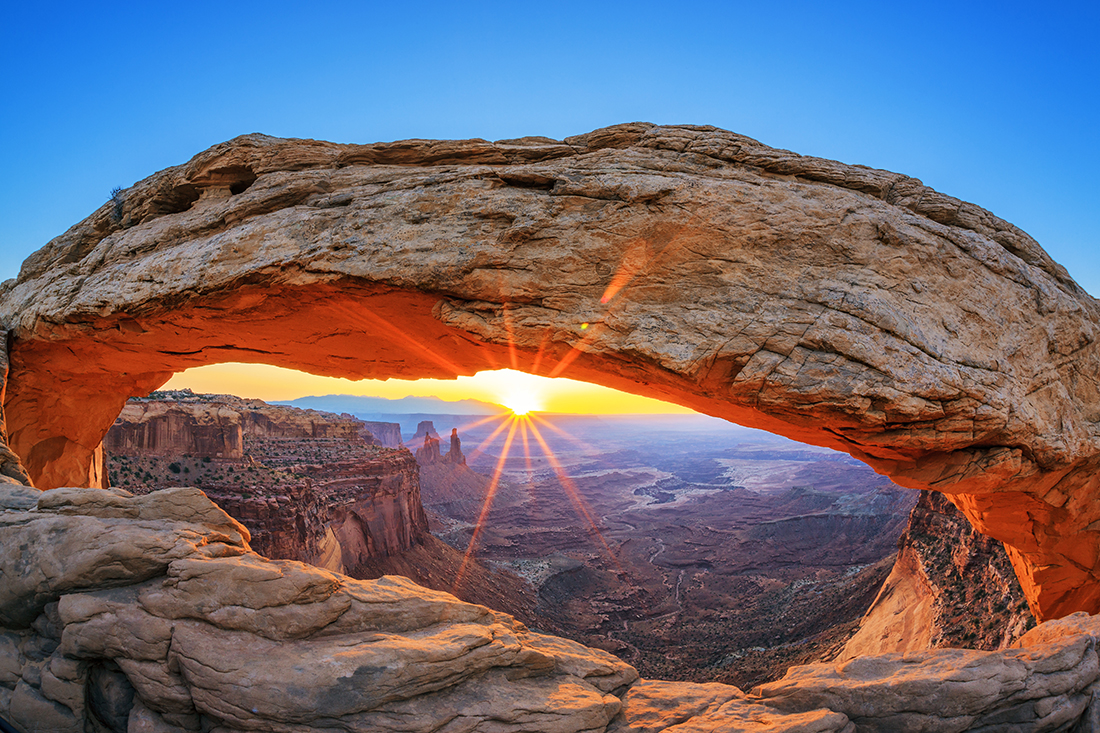 Mesa Arch, Canyonlands National Park near Moab, Utah