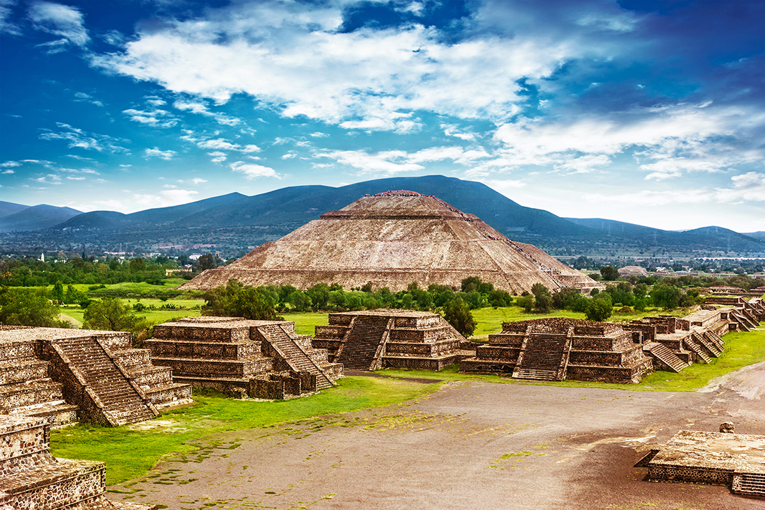 Teotihuacan, Mexico, North America