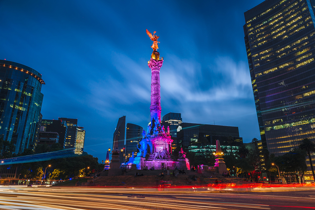 The Angel of Independence, Mexico City, Mexico