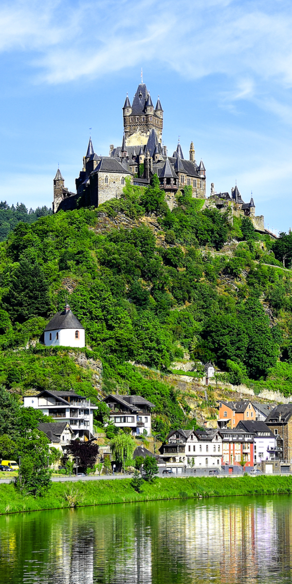 Reichsburg Cochem castle, Germany