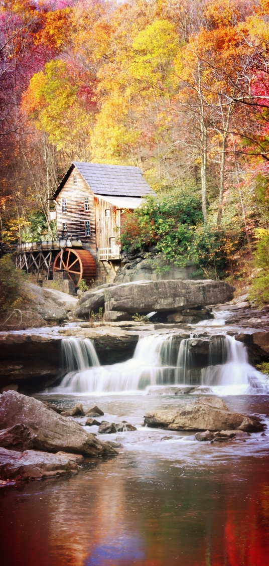 Glade Creek Grist Mill, Virginia