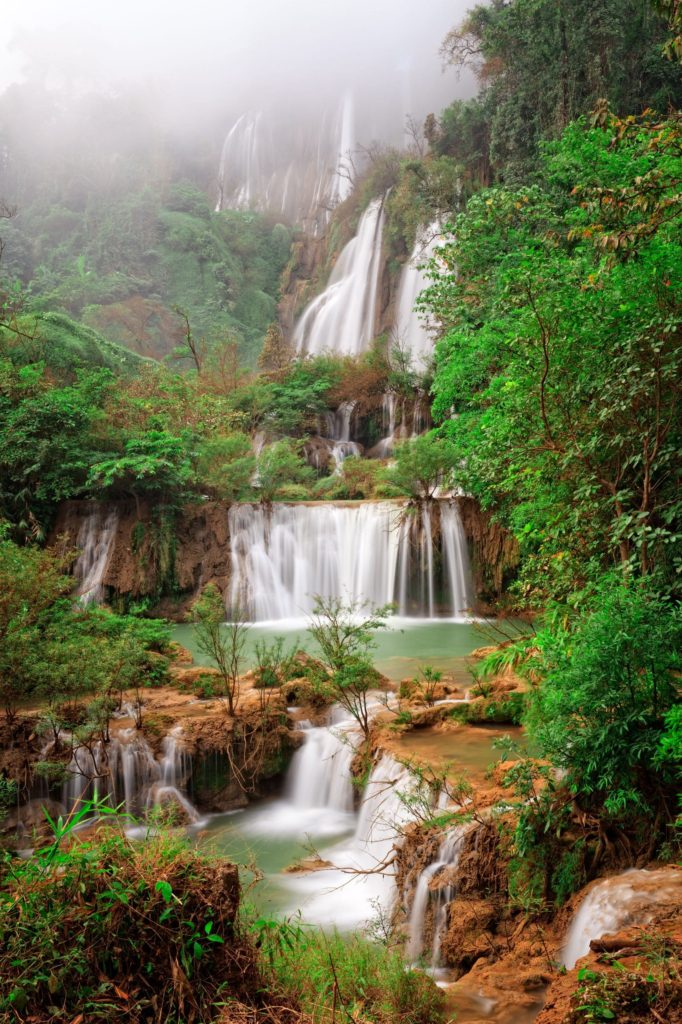Biggest waterfall of Thailand, Thi Lo su #waterfall