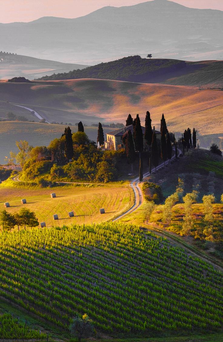 Tuscany Hill, Italy