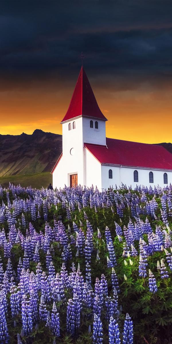 Lutheran church, Iceland