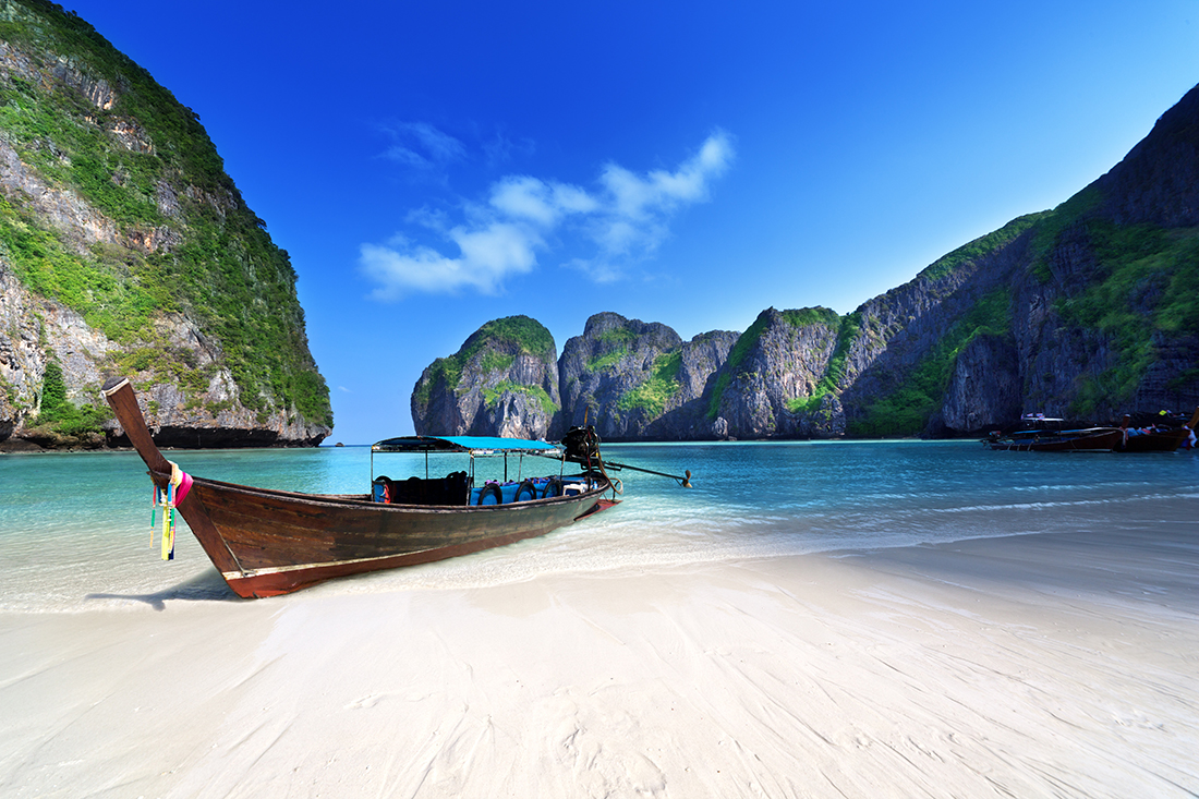 Maya bay, Phi Phi Leh island, Thailand