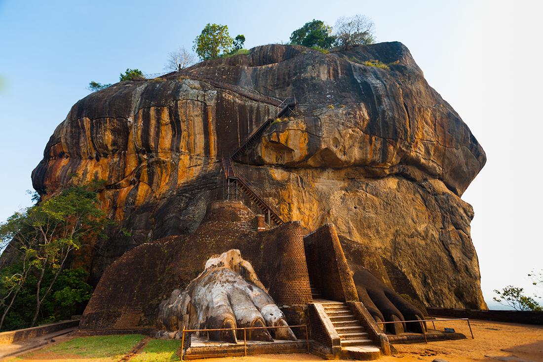 Sigiriya Lion Rock, Sri Lanka