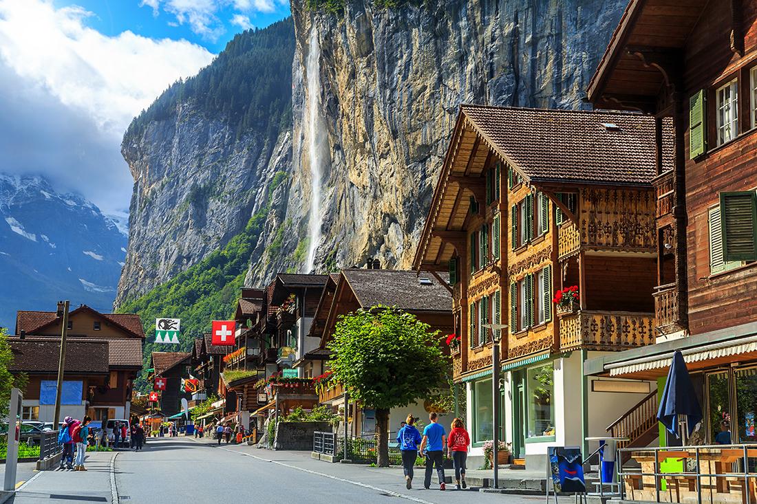 Lauterbrunnen, Bernese Oberland, Switzerland