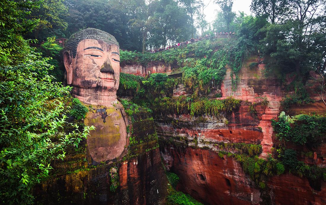 Giant Buddha, Leshan, Sichuan province