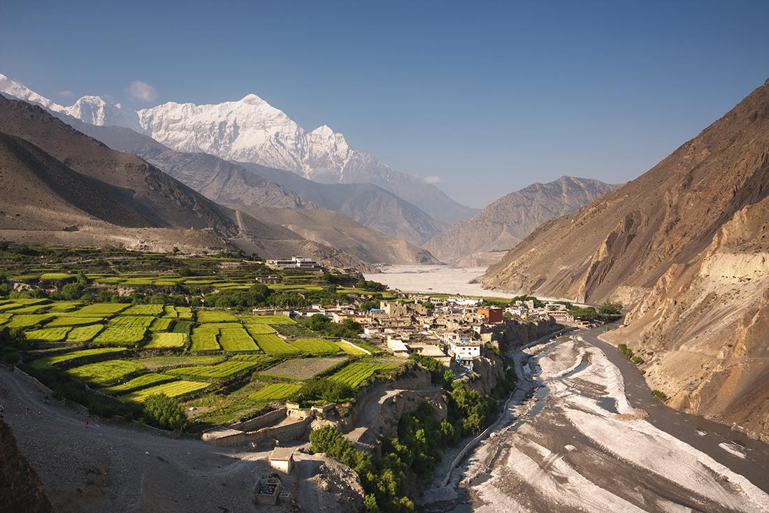 Village of Kagbeni, Upper Mustang, Nepal