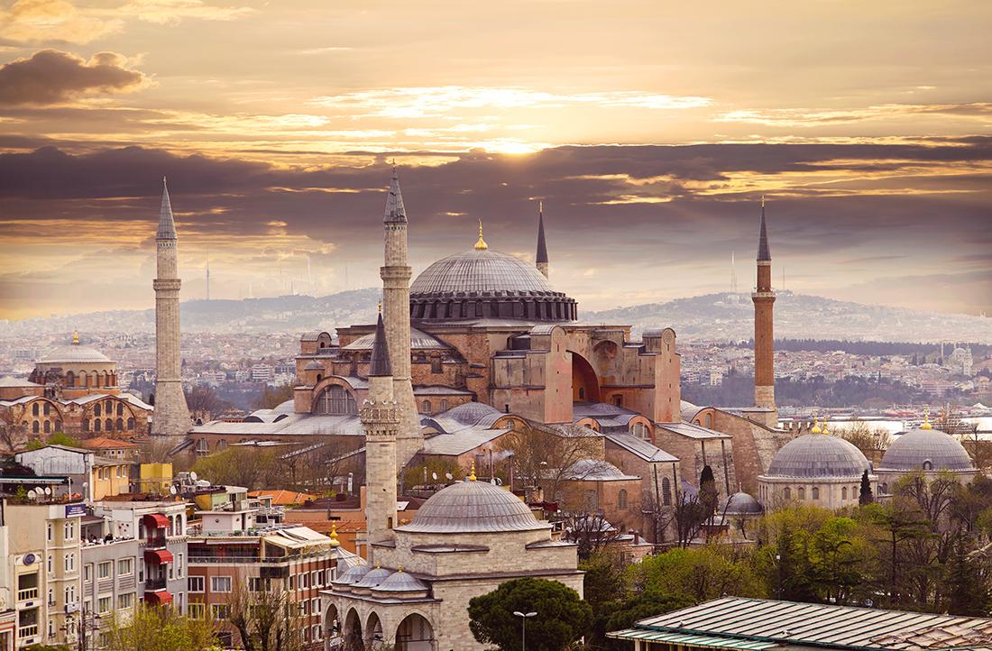 St. Sophia Cathedral, Hagia Sophia, Istanbul, Turkey