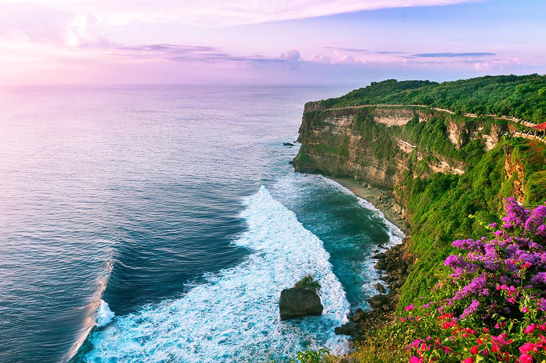 Uluwatu cliff, Bali, Indonesia