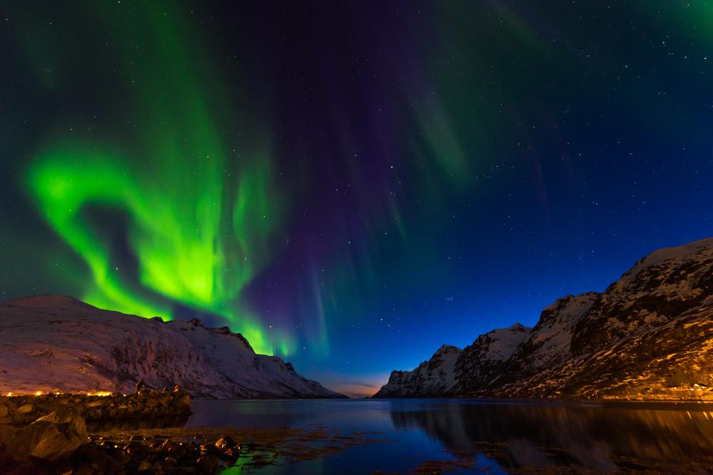 Polar lights, Tromso, Norway