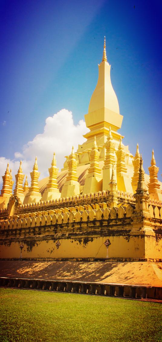 Pha That Luang, Vientiane, Loas