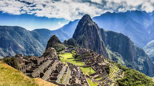Machu picchu lost city of inkas, Peru