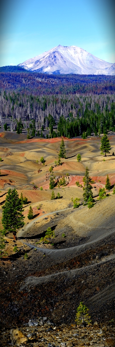 Painted Dunes, Lassen Volcanic National Park