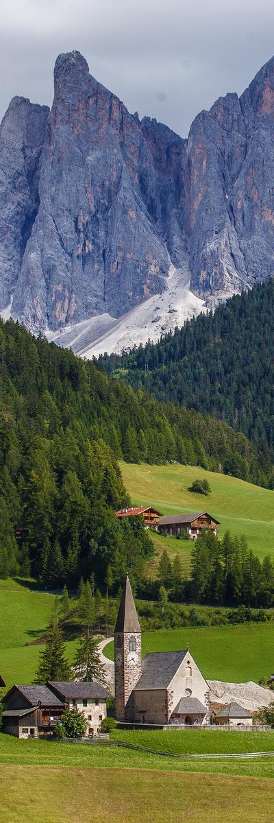 Santa Maddalena, Val di Funes, South Tyrol, Italy