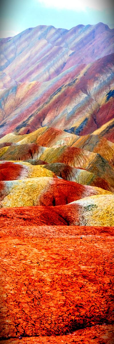 Zhangye National Geopark, China